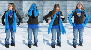 Bentley Glove Scarf by clearkid