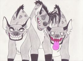 Hyena Clan by Dragon-hobbit101