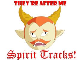 THEY'RE AFTER ME SPIRIT TRACKS by Icy-Snowflakes