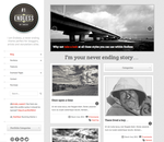 Endless - Infinite scrolling WordPress Theme by SneekDigital
