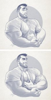 Hunk of the week #31 by silverjow