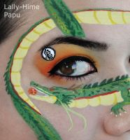 DBZ- Make-up by Lally-Hime