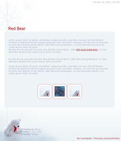 .:Red Bear by ginkgografix