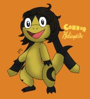 Connor Helioptile - 2015 by Dan-the-Countdowner
