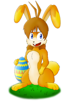 Easter Cabbit (Easter 2016) by Chris-Draws