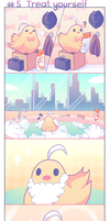 Chicken-kun's daily adventures - #5 Treat yourself by Lanahx3