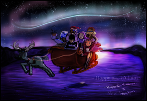 Late New Year Greetings by Skidzz