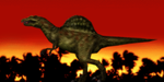 MMD Newcomer Spinosaurus + DL by Valforwing