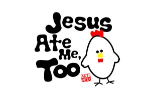 Jesus Ate Me Too by wowhaxer