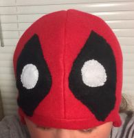 Deadpool hat by lovealwayshurts