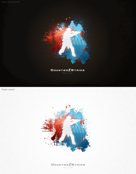 Counter-Strike Logo 2.0 by JonasIngebretsen
