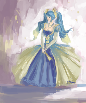 sona princess by acorns