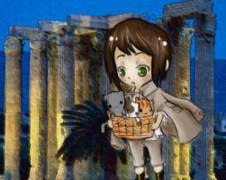 Chibi Greece by crystalice96
