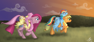 One hoof in front of the other by gonedreamer