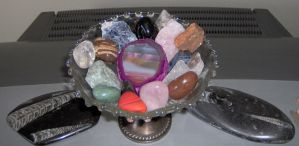 Bowl of Rocks by Acalanthis