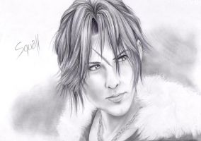 Squall portrait by PapouJunkie