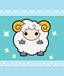 kawaii sheep by anonimus-kyreii