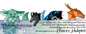 Welcome page by 1Fenrir1