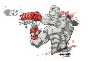 MMA Fighter by emmshin