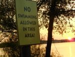 No Swimming Allowed by dreaming-in-denial