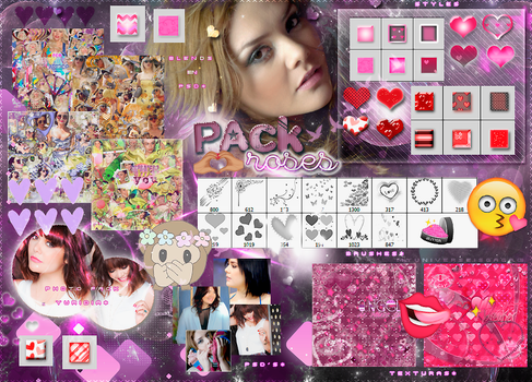 *~BIG Pack roses~* by MyUniverseIsGaga