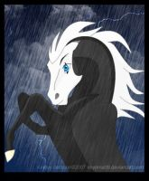 Pantamime in the Storm by SaddlePatch