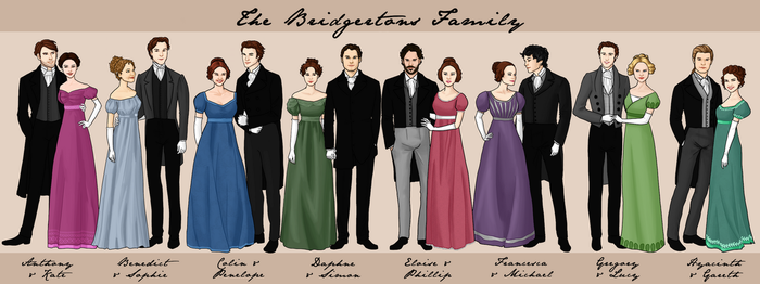 The Bridgertons Family by bechedor79