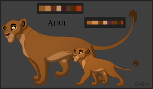 Competition entry - Adui by OnyxShiShi