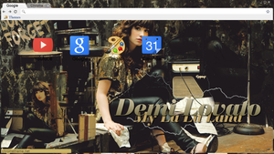 Tema Google Chrome - Demi Lovato. by iGoodbyeBreakingBad
