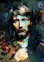 Mads Mikkelsen by Natmir