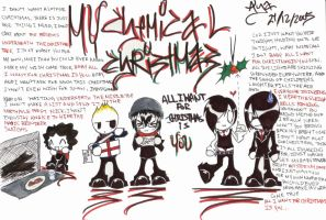 .MY . CHEMICAL . CHRISTMAS. by xxpunkedprincessxx