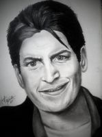 Charlie Sheen by kaylinvengeance