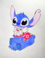 Stitch summer by kary22