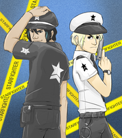 Starfighter Police by evillittlecherry