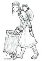 Laundry and babysitting by angelac