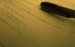 Photograph of a JAVA textbook by paradoxparty