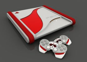 SonyPlayStation console 2 by TesserarT
