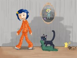 Coraline- Time for Bed by pirouline