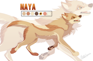 Naya Character Sheet by Kairi292