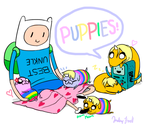 Puppies! by malengil