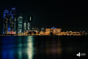 Night photography - Abu Dhabi by MANSORY