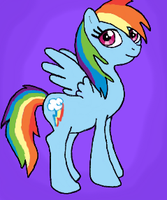Rainbow Dash. by DarkJazmin11