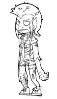 and this one is emily lineart by XXAnemia