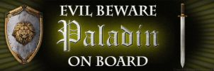 Paladin On Board by DawnPaladin