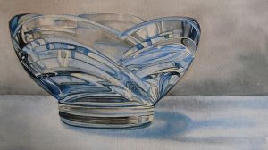 Glass Bowl by k8lag