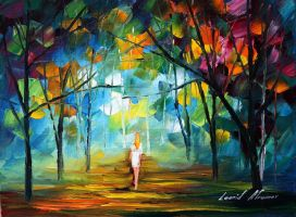Pure by Leonid Afremov by Leonidafremov