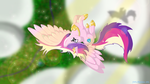 Cadance Flying High by SketchCoyote