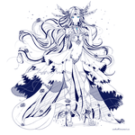 inky Comisssion - Eternelle by ximbixill