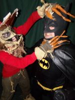 Scarecrow and the Bat freak 2 by ERINAND