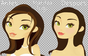 Doll Vectorizada 2 by MaritzaTrigo
